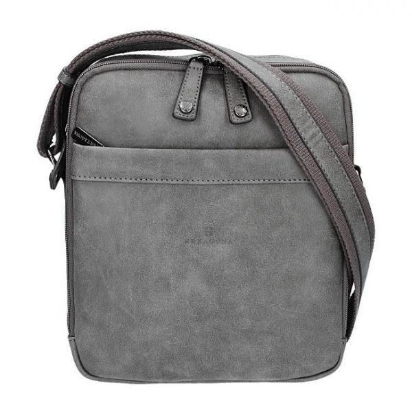 Pánská taška na doklady Hexagona 784629 – šedá