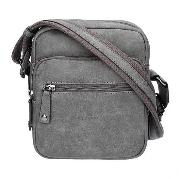 Pánská taška na doklady Hexagona 784628 – šedá