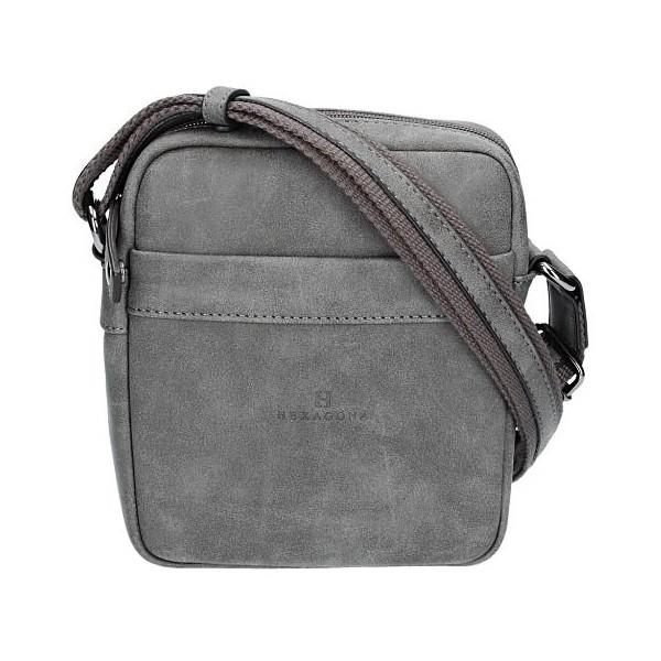 Pánská taška na doklady Hexagona 784636 – šedá