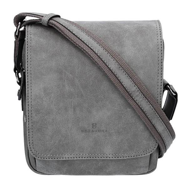 Pánská taška na doklady Hexagona 784631 – šedá