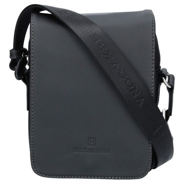 b7dff351b Pánská taška přes rameno Hexagona 299164 – černá