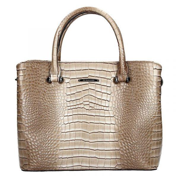 Dámská kabelka Hexagona 284925 – béžovo-hnědá