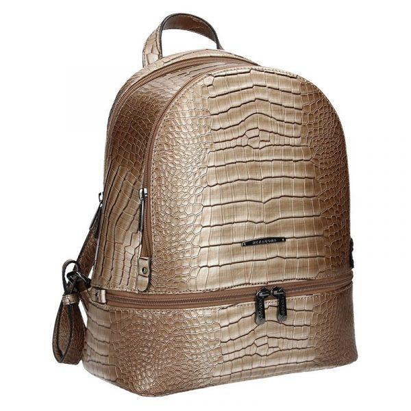 Dámský batoh Hexagona 284926 – béžovo-hnědá