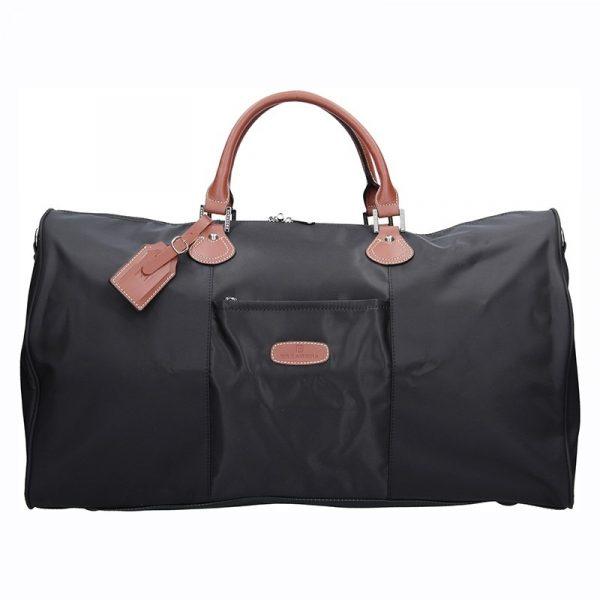 Unisex cestovní taška Hexagona Moyen – černá