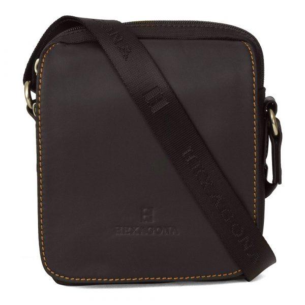 Pánská taška na doklady Hexagona 299176 – hnědá