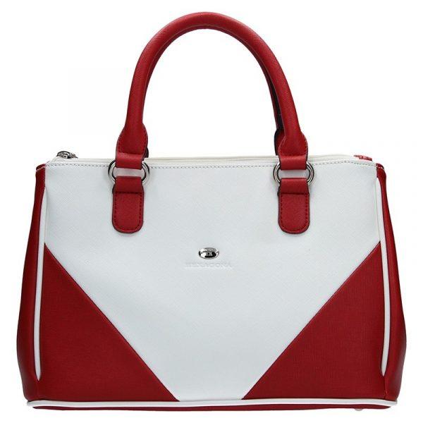 Dámská kabelka Hexagona 643733 – červená