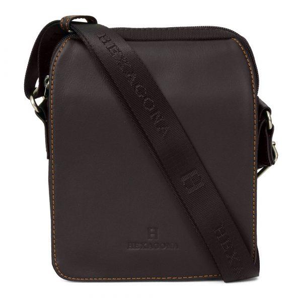 Pánská taška přes rameno Hexagona 299162 – hnědá