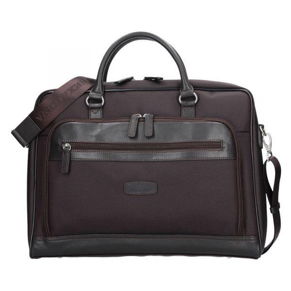 Pánská taška přes rameno Hexagona 293803 – hnědá
