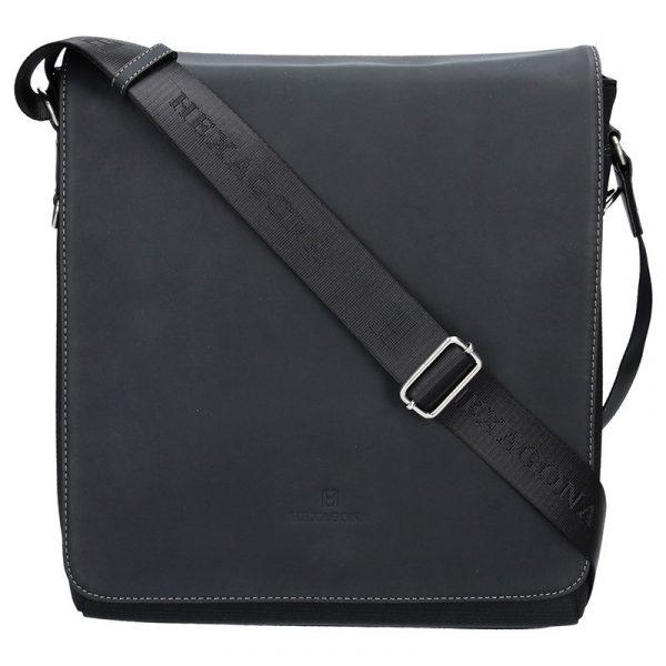 Pánská taška přes rameno Hexagona 299163 – černá