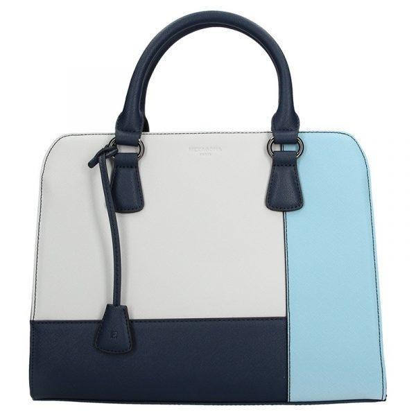 Dámská kabelka Hexagona 505235 – modro-bílá