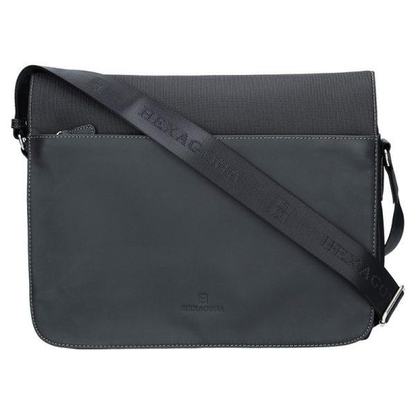 Pánská taška přes rameno Hexagona 292682 – černá