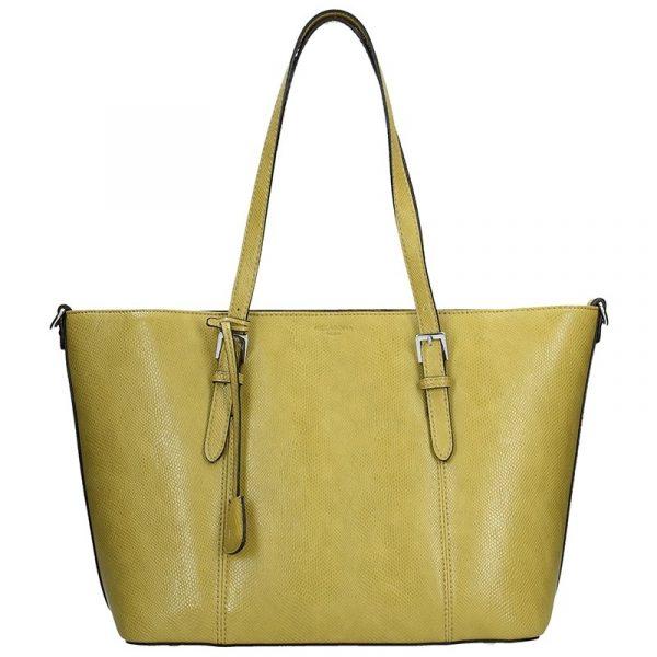 Dámská kabelka Hexagona 495348 – žluto-zelená