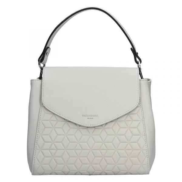 Dámská kabelka Hexagona 465361 – krémová