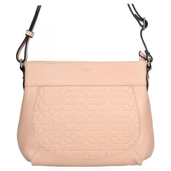 Dámská kabelka Hexagona 465355 – růžová