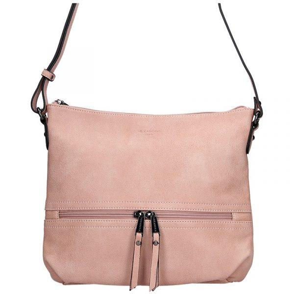 Dámská kabelka Hexagona 315314 – růžová