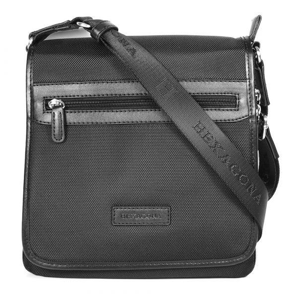 Pánská taška přes rameno Hexagona D72248 – černá