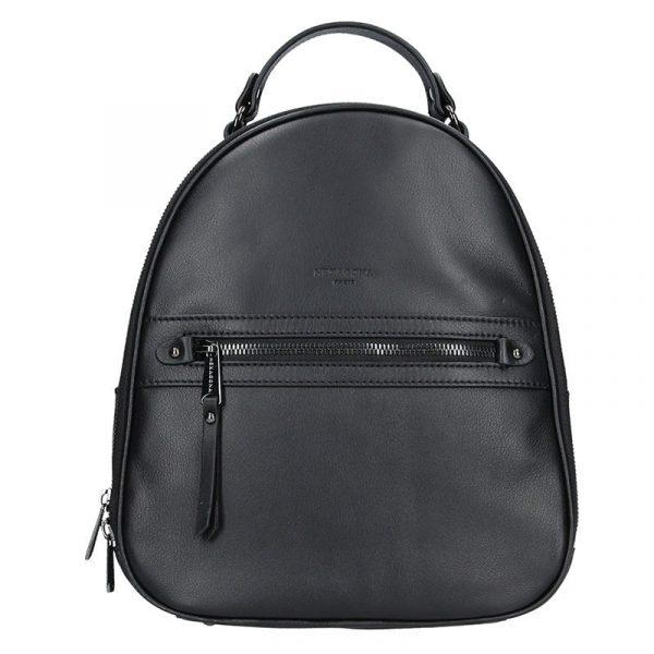 Dámský kožený batoh Hexagona Paloma – černá