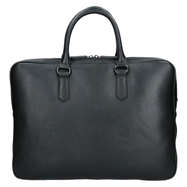 Pánská business taška přes rameno Hexagona Senders – černá