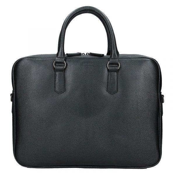 Pánská business taška přes rameno Hexagona Pablo – černá