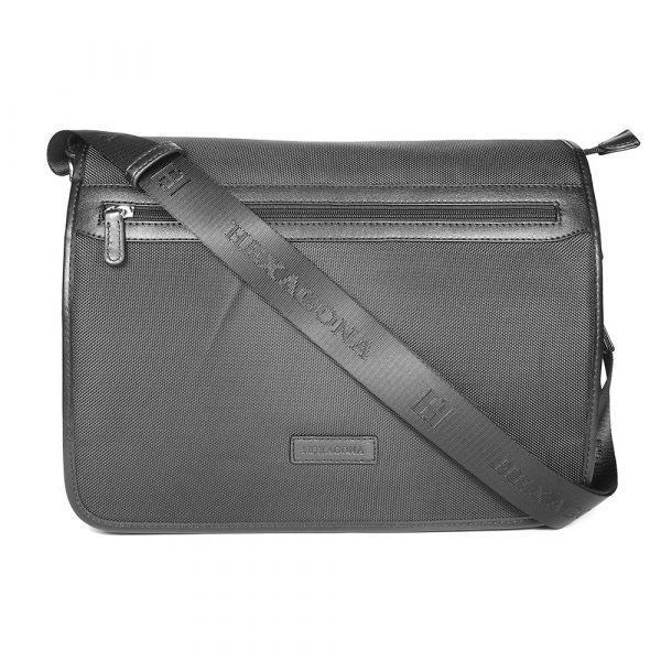 Pánská taška přes rameno Hexagona D72279 – černá