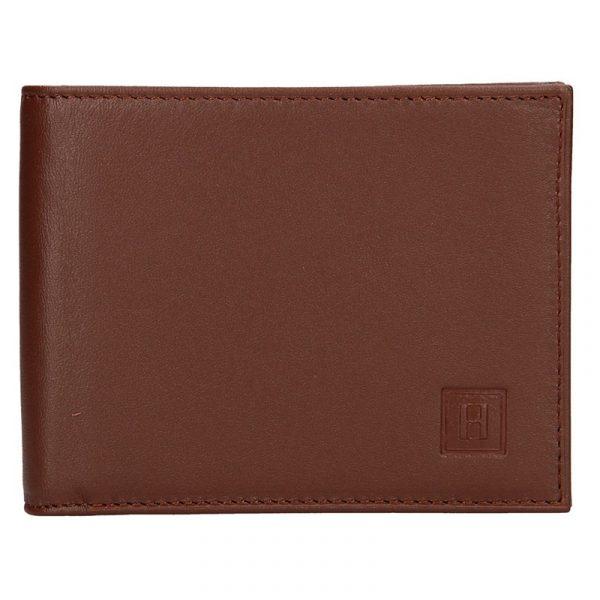 Pánská peněženka Hexagona Adam – hnědá