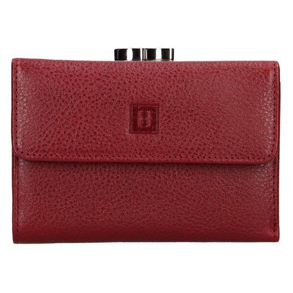 Dámská kožená peněženka Hexagona Fiona – vínová