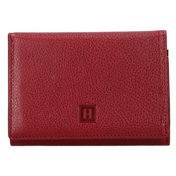 Dámská kožená peněženka Hexagona Leila – vínová