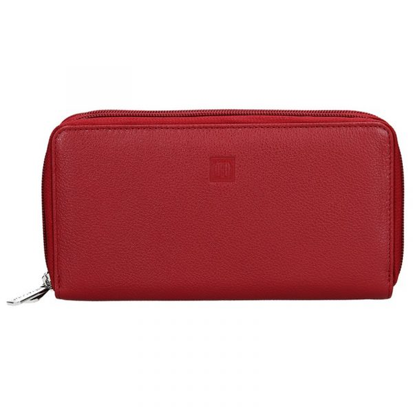 Dámská peněženka Hexagona Double – červená
