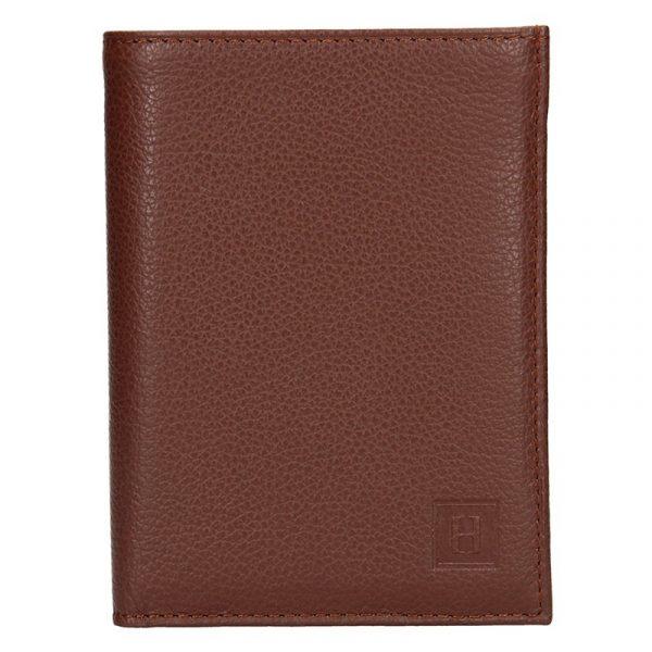 Pánská peněženka Hexagona Tibor – hnědá