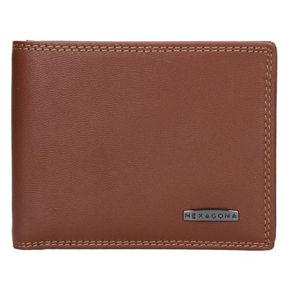 Pánská peněženka Hexagona Emil – hnědá