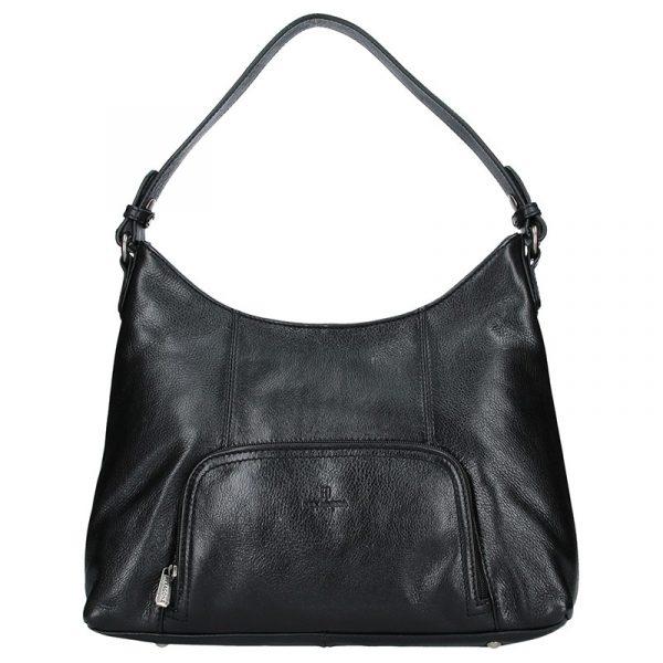 Dámská kožená  kabelka Hexagona Norra – černá