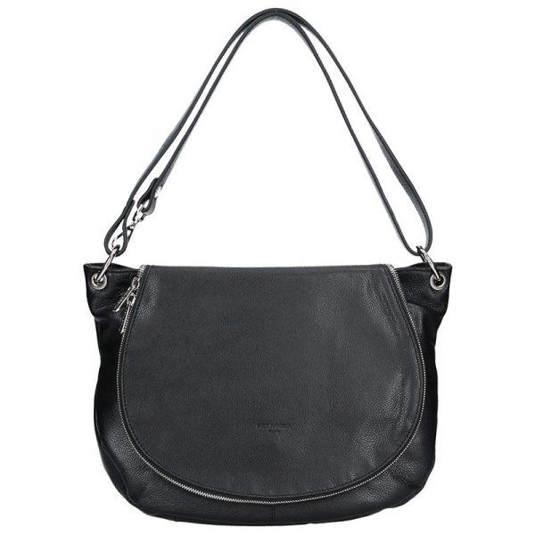 Dámská kožená kabelka Hexagona Viktoria – černá