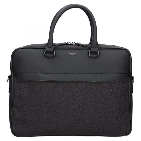 Pánská business taška přes rameno Hexagona Phil – černo-šedá
