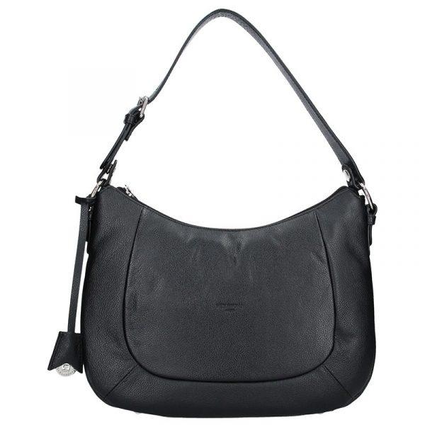 Dámská kožená kabelka Hexagona Polly – černá