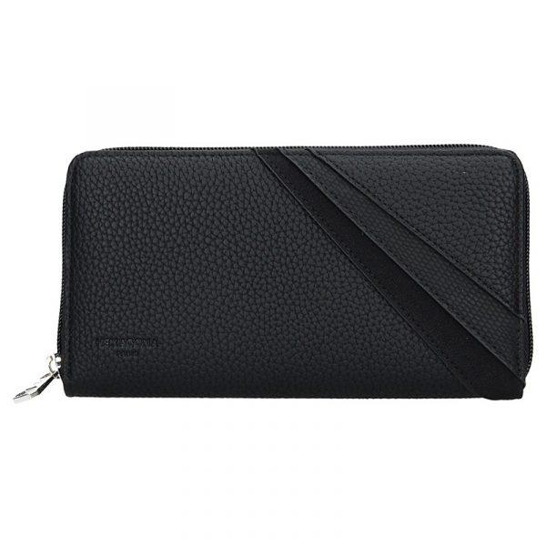 Dámská peněženka Hexagona Vendy – černá