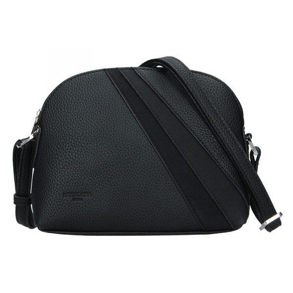 Dámská crossbody kabelka Hexagona Lorra – černá