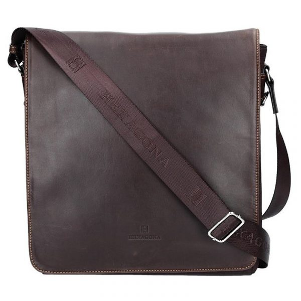 Pánská taška přes rameno Hexagona 299163 – hnědá