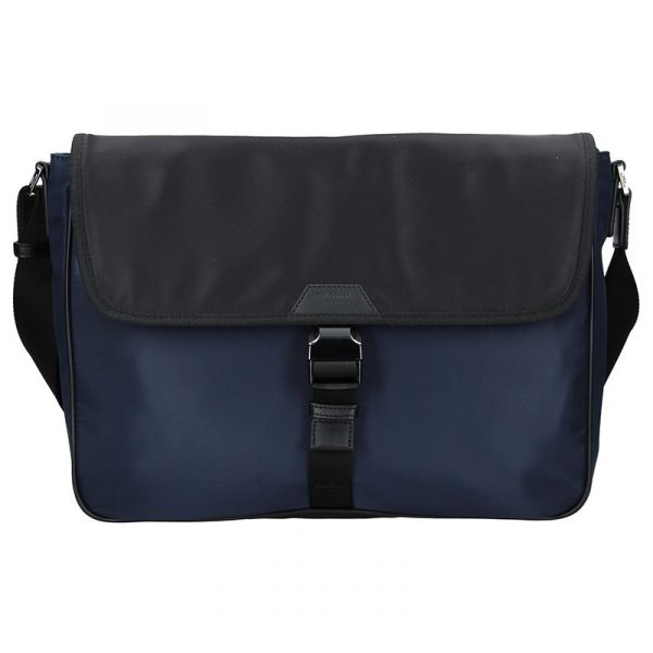 Pánská taška přes rameno Hexagona Quido – modro-černá