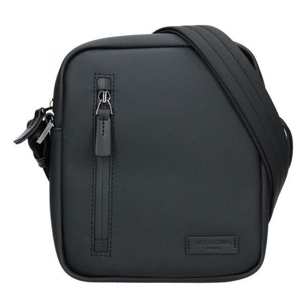 Pánská voděodolná taška přes rameno Hexagona Venla – černá