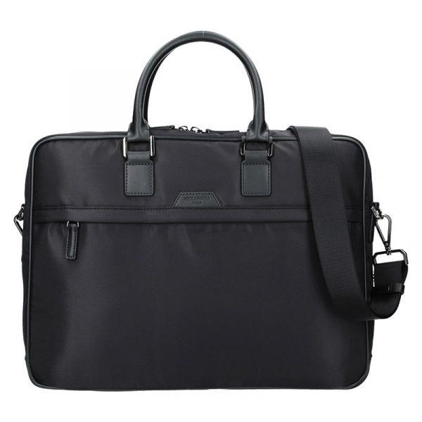 Pánská taška na notebook Hexagona Aarvold – černá