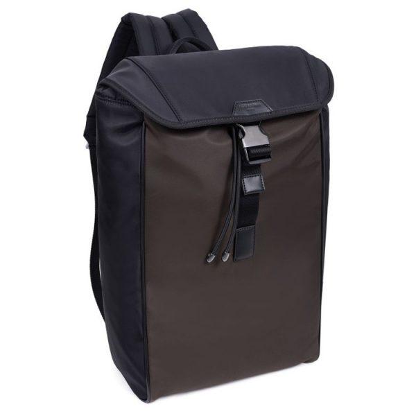 Moderní pánský batoh Hexagona Citizen – černo-hnědá