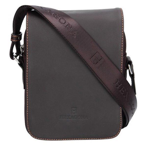 Pánská taška přes rameno Hexagona Renno – hnědá