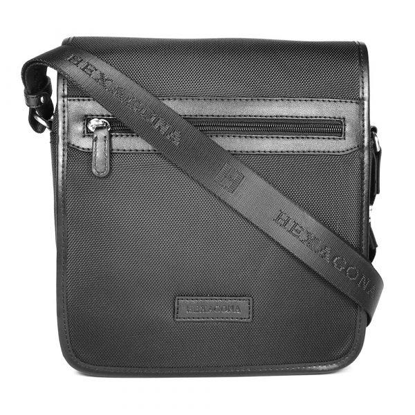 Pánská taška přes rameno Hexagona D72278 – černá