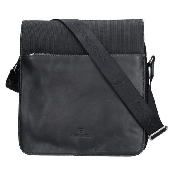 Pánská taška přes rameno Hexagona 292683 – černá