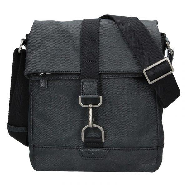 Pánská taška přes rameno Hexagona Folga – černá