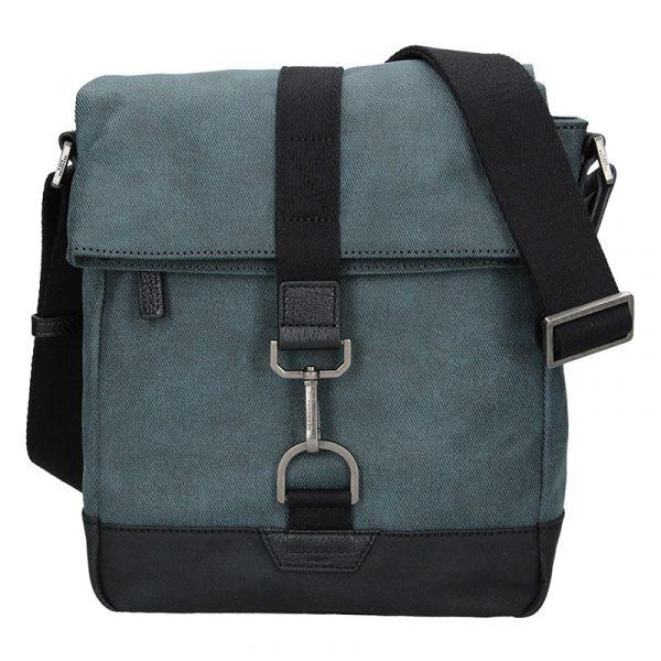 Pánská taška přes rameno Hexagona Folga – modrá