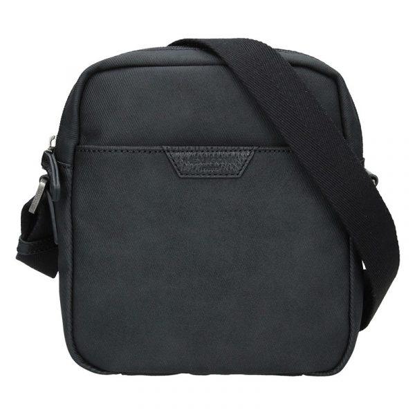 Pánská taška přes rameno Hexagona Ignac – černá