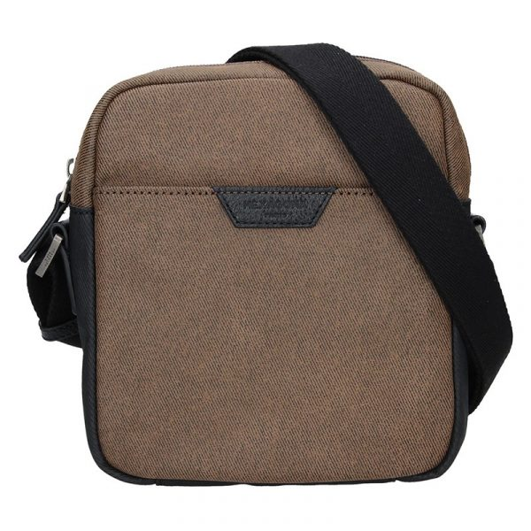 Pánská taška přes rameno Hexagona Ignac – hnědá