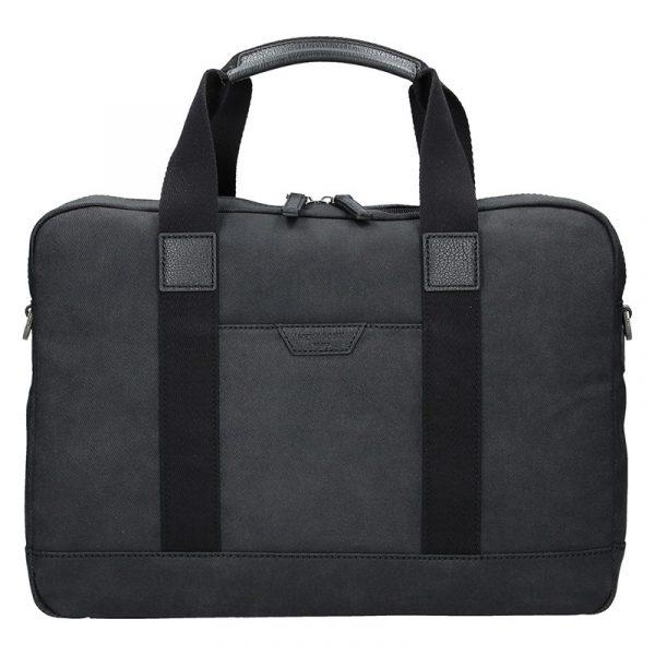 Pánská taška přes rameno Hexagona Dyton – černá