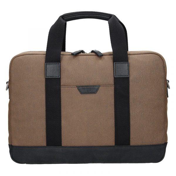 Pánská taška přes rameno Hexagona Dyton – hnědá